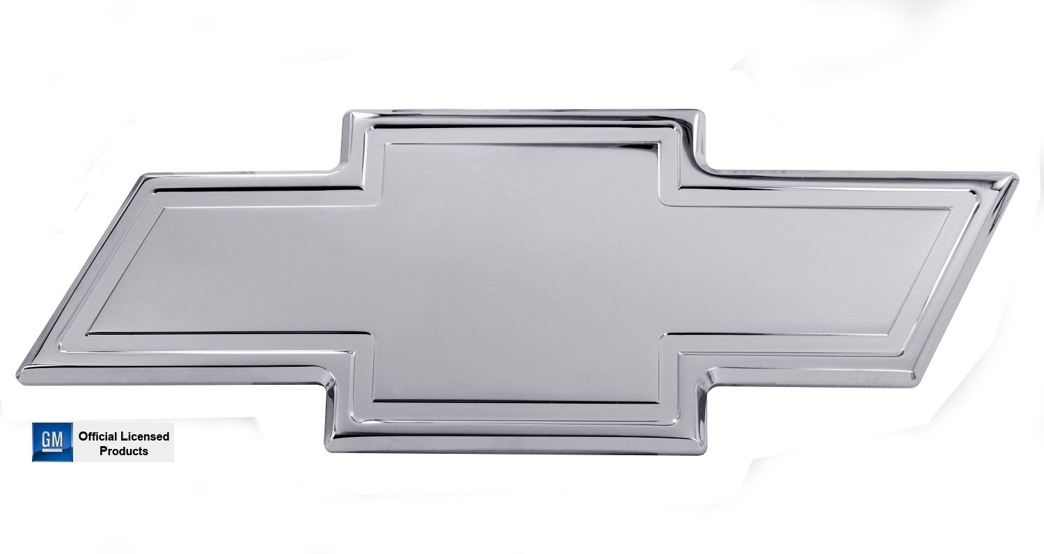 All Sales 96171C Chevy Grille Emblem with Border