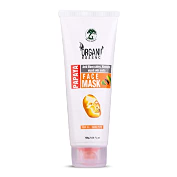 Buy Organic Essence Papaya Face Mask For Anti Blemish Pigmentation Paraben Sulfate Free 100gm Online At Low Prices In India Amazon In
