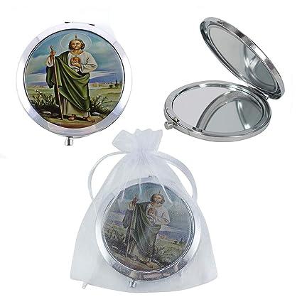 Amazon.com: 12 espejos compactos de St. Jude, recuerdos de ...
