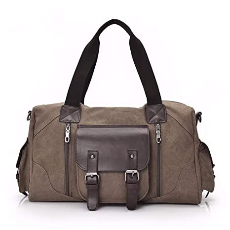 4d6efacbd9c8 Amazon.com: Gxinyanlong Travel Bags, Canvas, Large Capacity Men's ...