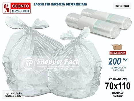200 bolsas transparentes grandes de plástico LDPE ...