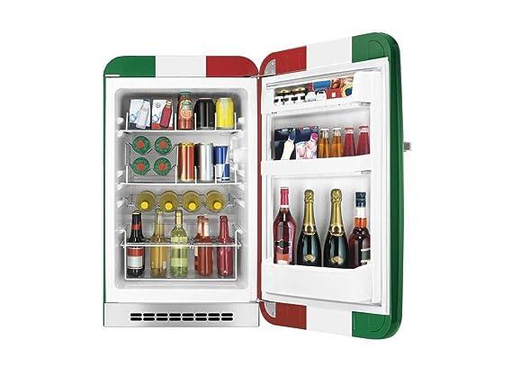 Retro Kühlschrank Italien : Smeg fab hrit stand flaschenkühlschrank italien flagge tür rechts