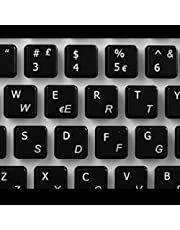 Adesivi tastiera italiano transparente per laptop o PC Computer - Scegli il tuo colore preferito