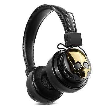 Auriculares con Bluetooth en la oreja, plegables, ligeros ...