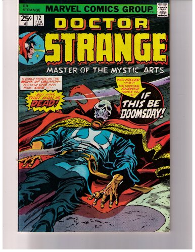 Stan Lee Presents:doctor Strange No. 12 1976 (Master Of The Mystic Arts!, Vol. 1 Feb.)