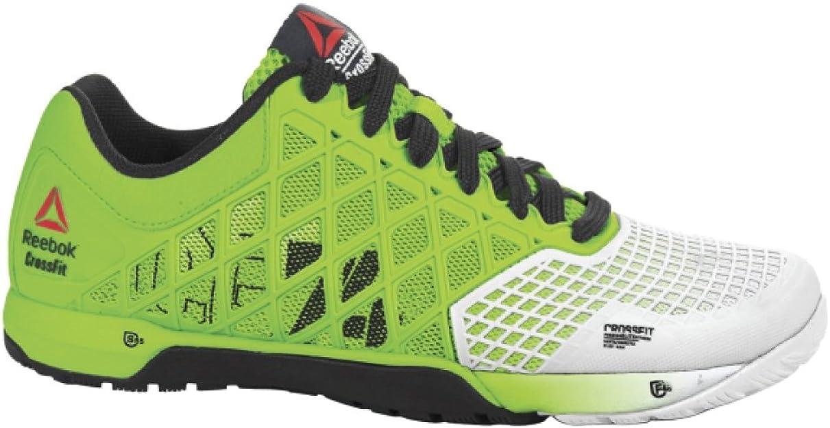 ReebokCROSSFIT Nano 4.0 Solar-W - Crossfit Nano 4.0 Solar-w Mujer, Verde (Verde Solar, Porcelana y Negro.), 42 EU: Amazon.es: Zapatos y complementos
