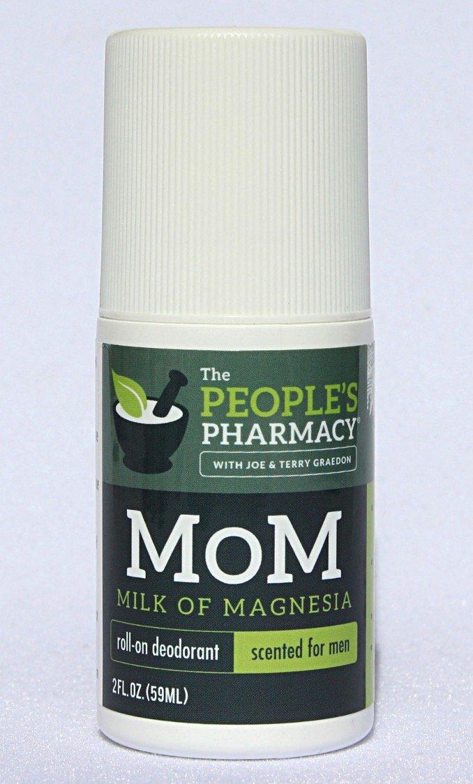 Mens MoM (Milk of Magnesia) Aluminum-free Roll-on Deodorant