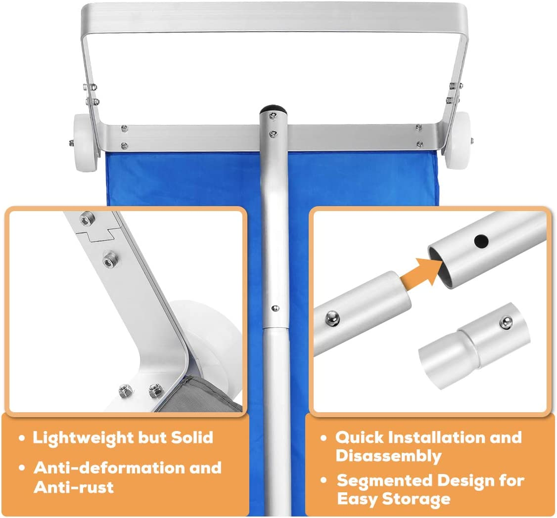 Durable & Lightweight myeasyzone Snow Roof Rake Removal Tool 4 ...