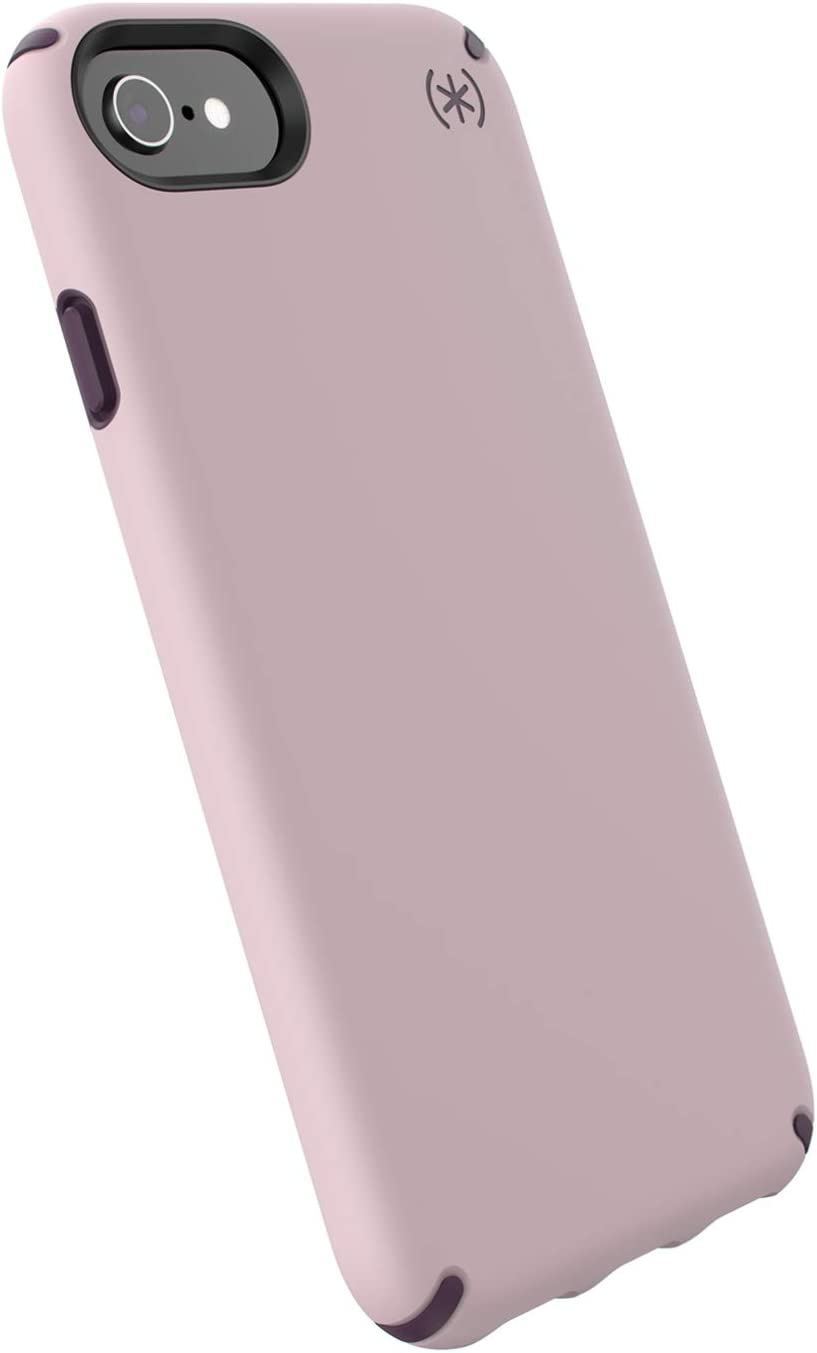 Speck Products Presidio Pro iPhone SE 2020 Case/iPhone 8 - Meadow Pink/Vintage Purple