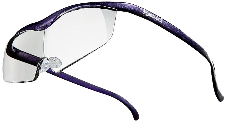 Hazuki Loupe Magnifier Large Clear Lens 1.6 X Blue Light 35% Cut (Purple) by Hazuki (Image #1)