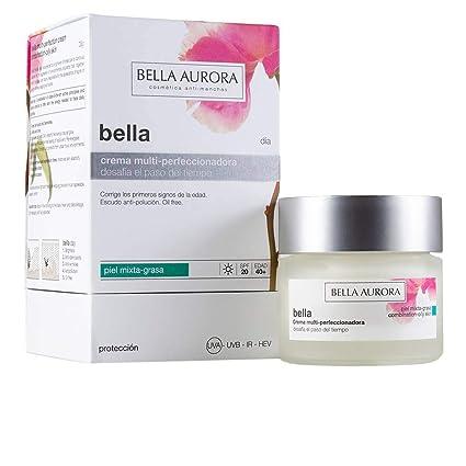 Bella Aurora Bella Crema Facial Día Hidratante Mujer Anti-Edad para Piel Mixta o Grasa