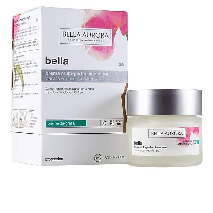 Bella Aurora Bella Crema Facial Noche Anti-Arrugas y Anti-Edad para Mujer Tratamiento Reparador Anti-Manchas de acción Nocturna, 50 ml: Amazon.es: Belleza