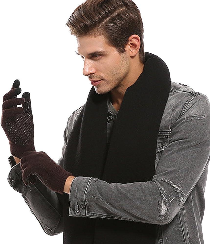 Bienvenu Womens Mens Screen Gloves Warm Lined Touch Winter Gloves