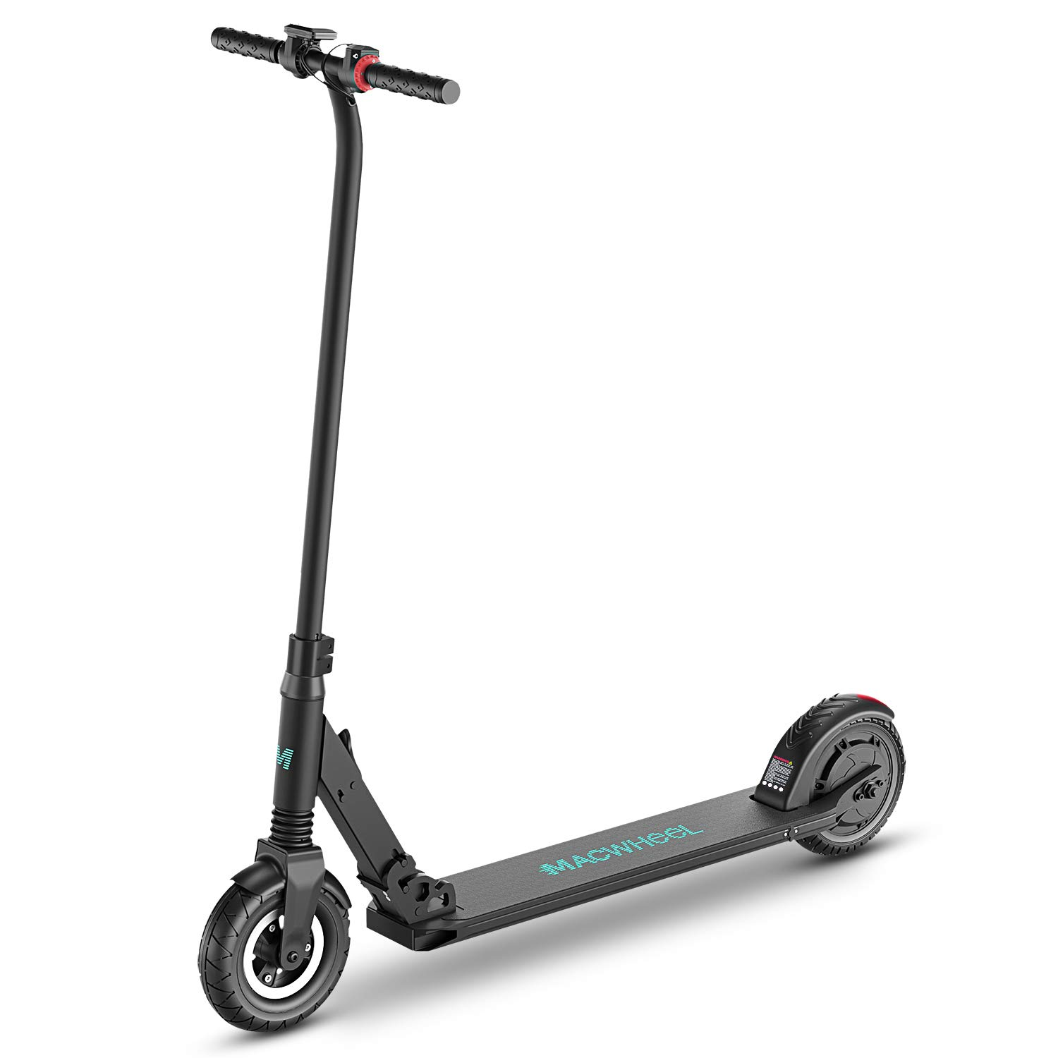 Macwheel Foldable Lightweight Electric Scooter, 8'' Airless Foam Filled Tires, Powerful 300W Motor, Up to 15 MPH, Lightweight Folding Adult Electric Scooter for Commuting(MX2) by Macwheel