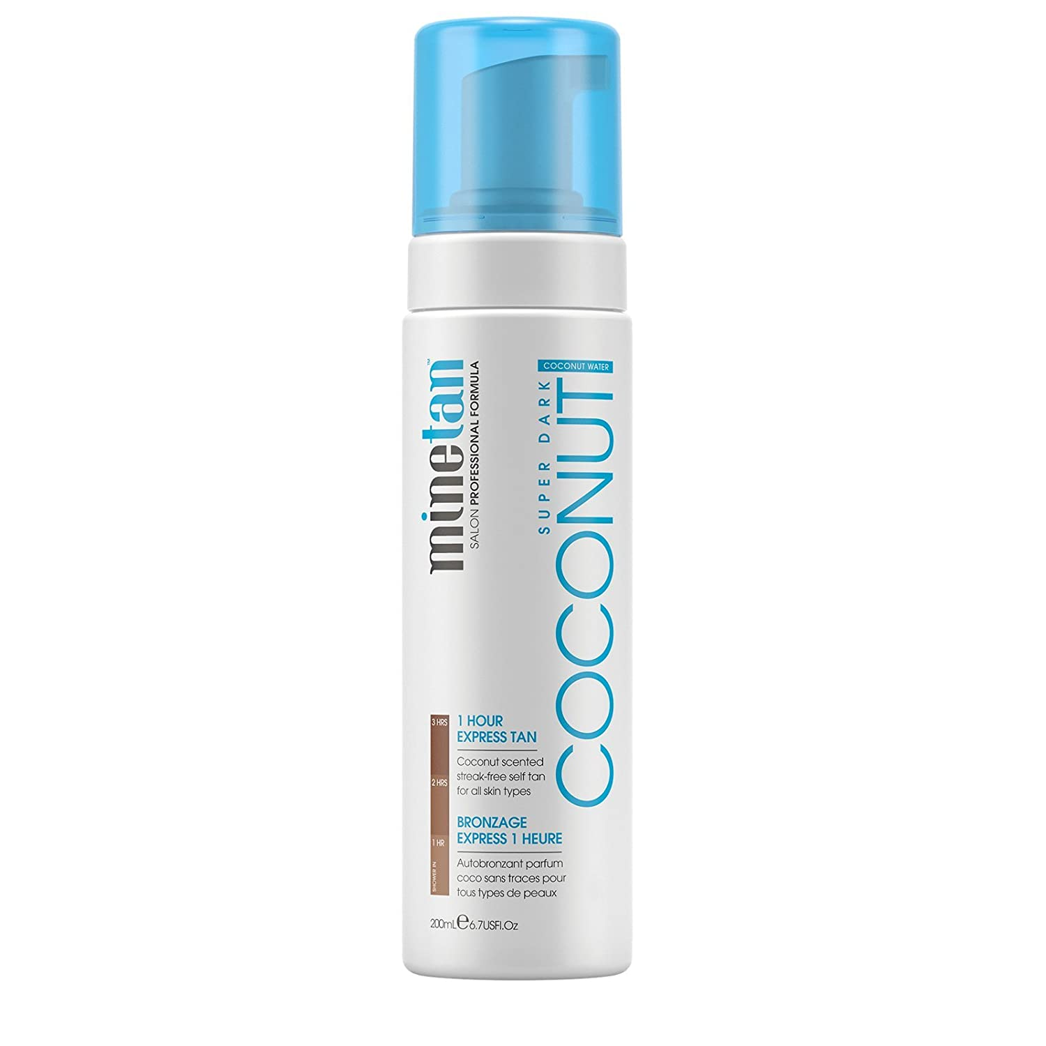 MineTan Coconut Water Self Tan Foam Marque of Brands MT019