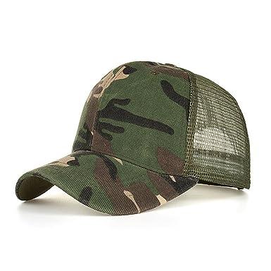 4c27802f5e46bd Tomatoa Sports Trucker Hat Camouflage Adjustable Baseball Cap Unisex Cap  Fashion Men Women Summer Cap Mesh Hats Casual Hats Hip Hop Outdoor Sport  Caps: ...