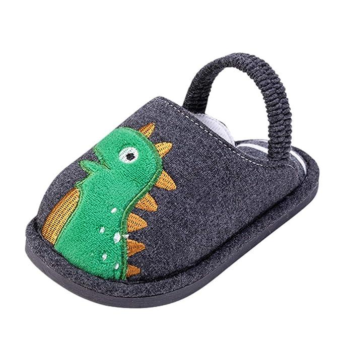 Amazon.com: Pantuflas de bebé para el hogar, para niños ...
