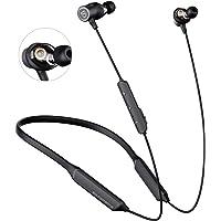 SOUNDPEATS Bluetooth Headphones Wireless Built in Mic/cVc Noise Cancellation/ 22 Hours Playtime/APTX HD Audio Headset…