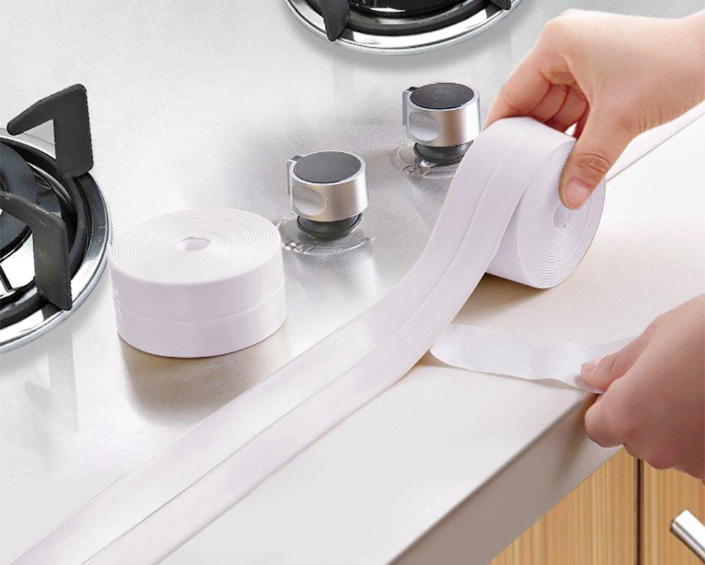 loobani pe bathtub counter caulk strip seal for bath tub. Black Bedroom Furniture Sets. Home Design Ideas