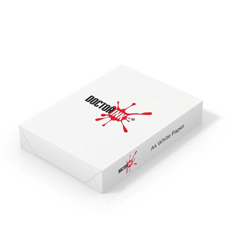 Carta Stampante A3 Risma 500 Fogli 80 gr Bianco Puro Fotocopiatrice Laser Getto d'inchiostro Fax Foto Copie - Doctorink (4)