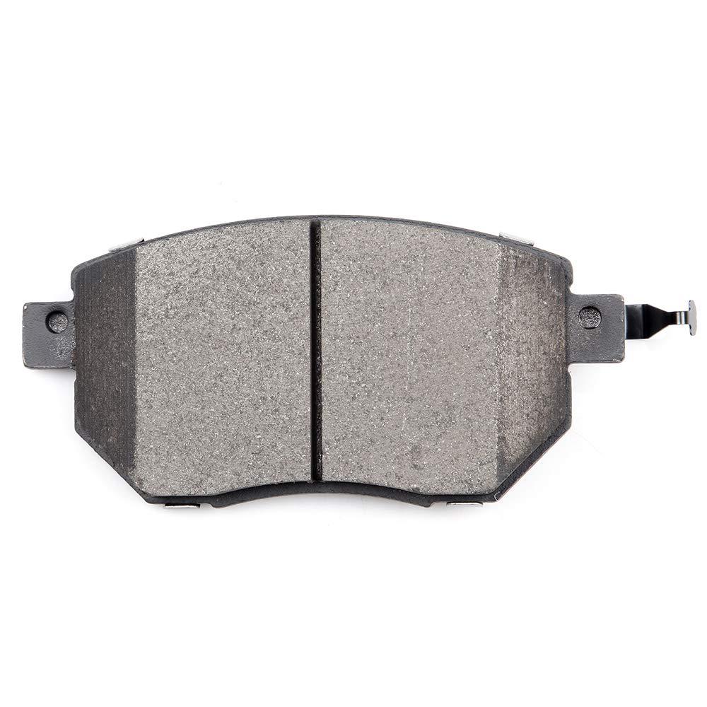 Ceramic Brake Pads fit for 2013 Infiniti JX35,2014-2017 Infiniti QX60,2015-2018 Nissan Murano,2013-2017 Pathfinder cciyu Front Premium Brake Rotors