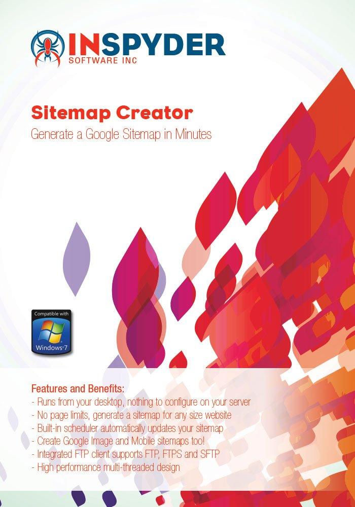 Inspyder Sitemap Creator [Download] by Inspyder Software Inc.