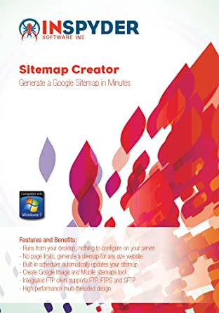 Amazon.com: Inspyder Sitemap Creator [Download]: Software