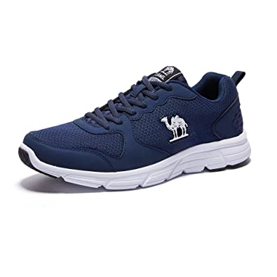 Camel Men's Sneakers Running Shoes Mesh Lightweight Breathable Sport Shoes  Color Blue Size 40 ...