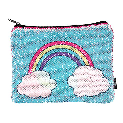 Style.Lab Unicorn/Rainbow Magic Sequin Reveal Pouch for $<!--$9.43-->
