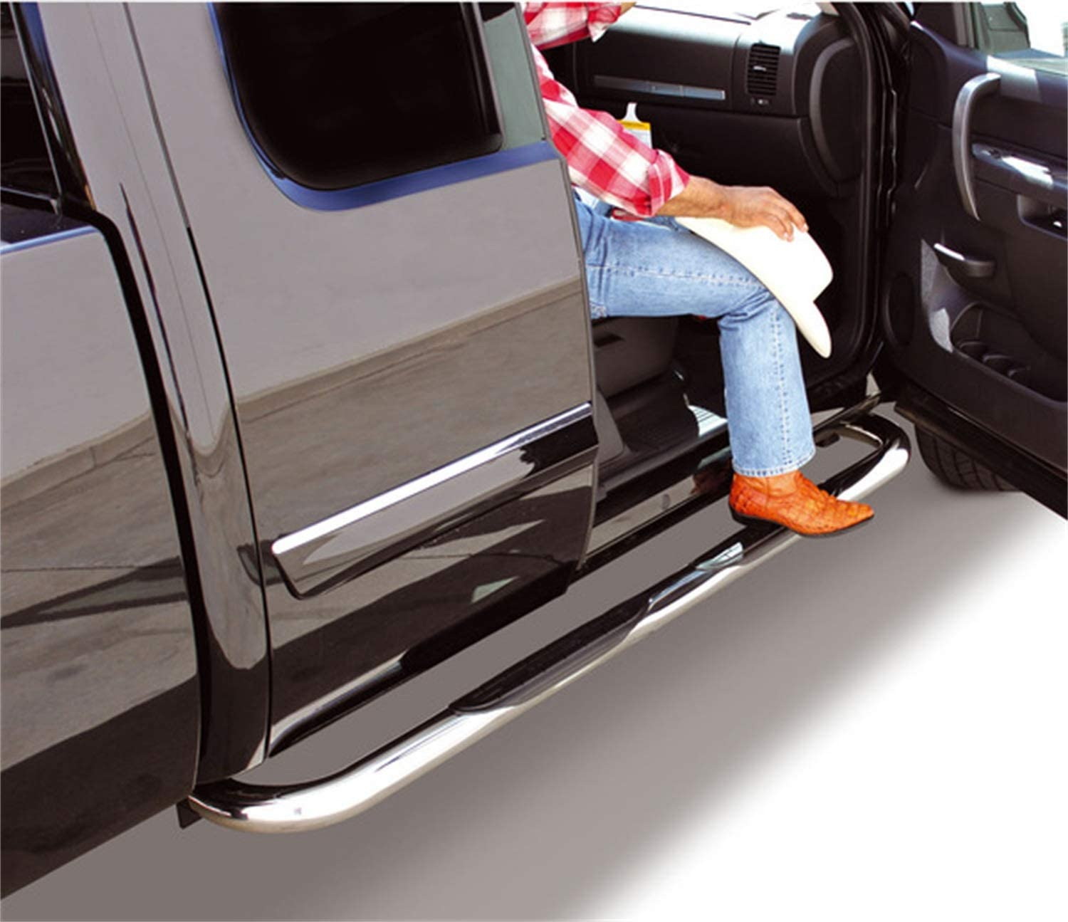 Includes Mounting Hardware and Brackets 4239PS 4000 Series Polished Jeep Grand Cherokee Cab Length Side Step Go Rhino
