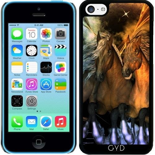 Coque pour Iphone 5c - Chevaux Impressionnants by nicky2342
