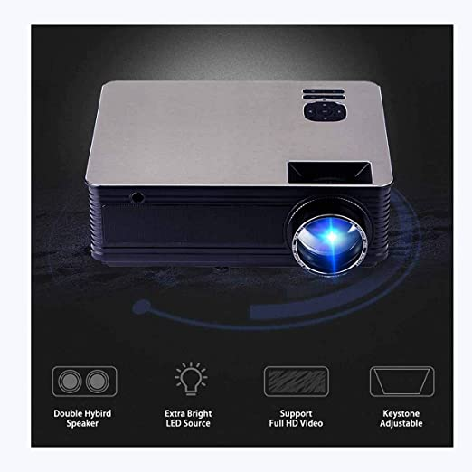 Ai LIFE Proyector Proyector LED Multimedia Digital para hogar y ...