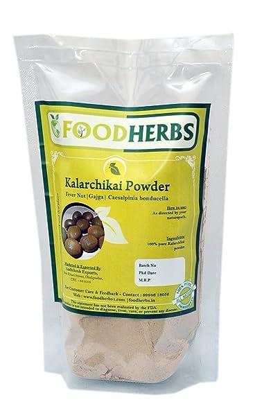 Foodherbs Gajga/Fever Nut/Kalarchikai/Caesalpinia Bonducella Powder (100 g)