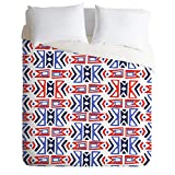 Deny Designs Zoe Wodarz Firecracker Southwest Duvet Cover, Queen