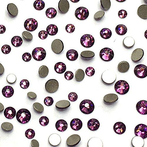 Amethyst 144 Pcs Swarovski Crystal - 7
