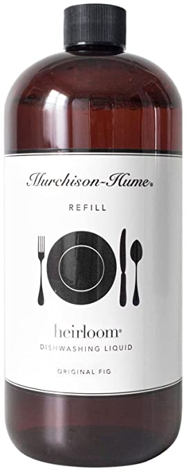 Murchison-Hume Heirloom Liquid Dish Soap Refill Original Fig 32 Oz. All Natural Ingredients Made in USA