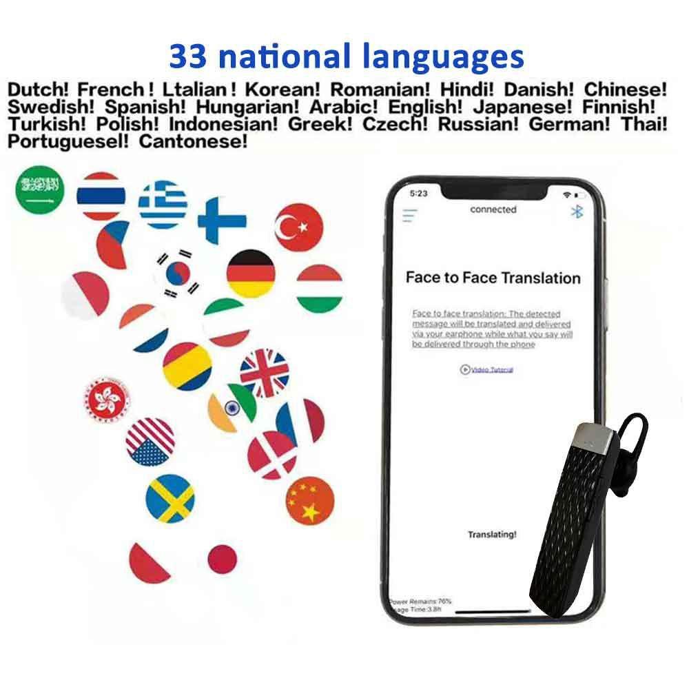 Zowam Language Translator,Handheld Portable Real-Time