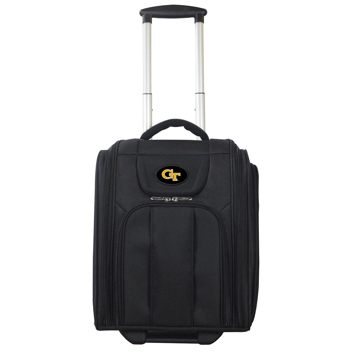 Denco NCAA Georgia Tech Yellow Jackets Deluxe Wheeled Laptop Overnighter by Denco