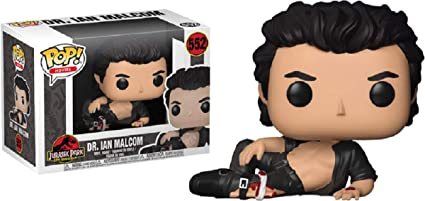 Ian Malcolm Collectible Figure Jurassic Park-Dr Funko Pop Movies