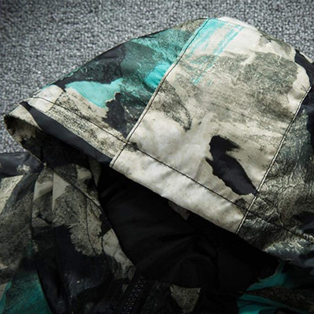 Chaqueta Hombre Invierno Cazadoras Hombre Parka con Capucha Jacket Abrigo de Algod/ón Cazadora Chaqueta de Abrigo Casual Chaqueta T/érmica de Cuero Abrigos Logobeing Chaquetas K195