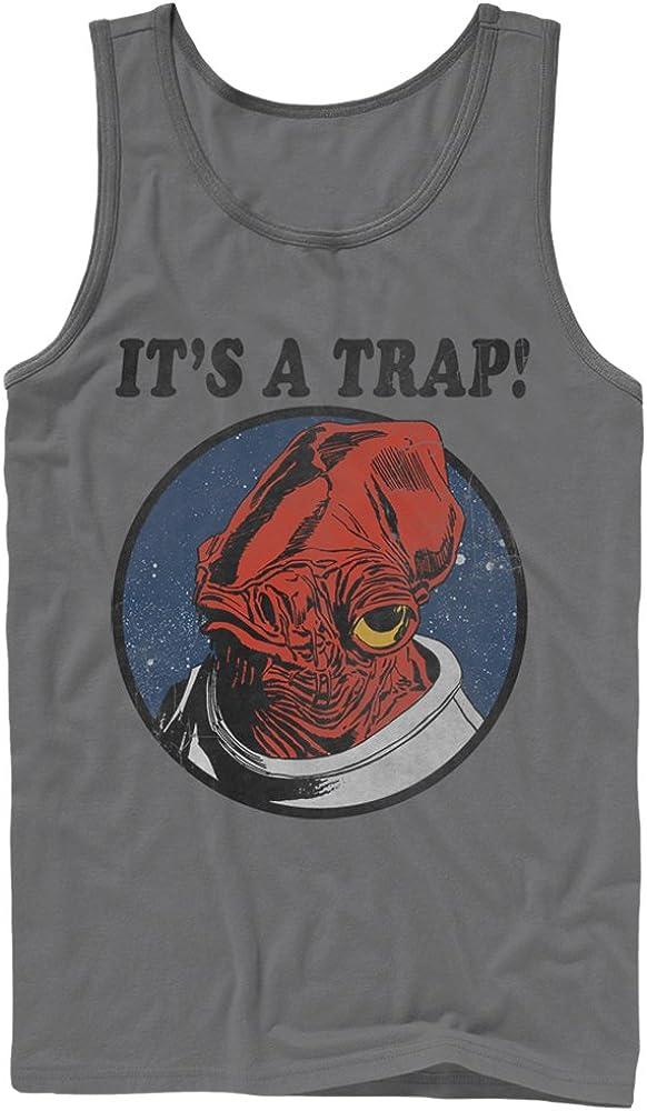 Star Wars Men's It's a Trap Admiral Ackbar Tank Top