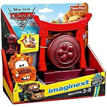 Amazon Com Disney Pixar Cars 2 Movie Imaginext