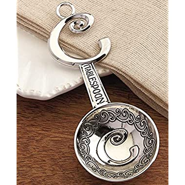 Set of 4 Monogram Measuring Spoons  C