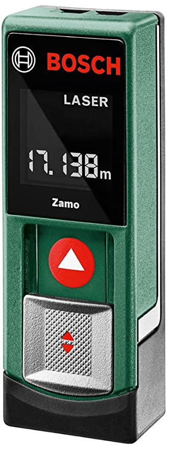 Bosch Digitaler Laser-Entfernungsmesser Zamo (2x Batterien AAA, Karton (20m Messweite))