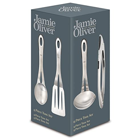 Jamie Oliver Küchenutensilien Zum Aufhängen, 6-Teiliges Set