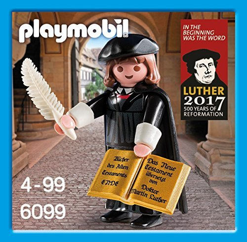Playmobil 6099 Martin Luther Figure Special Edition