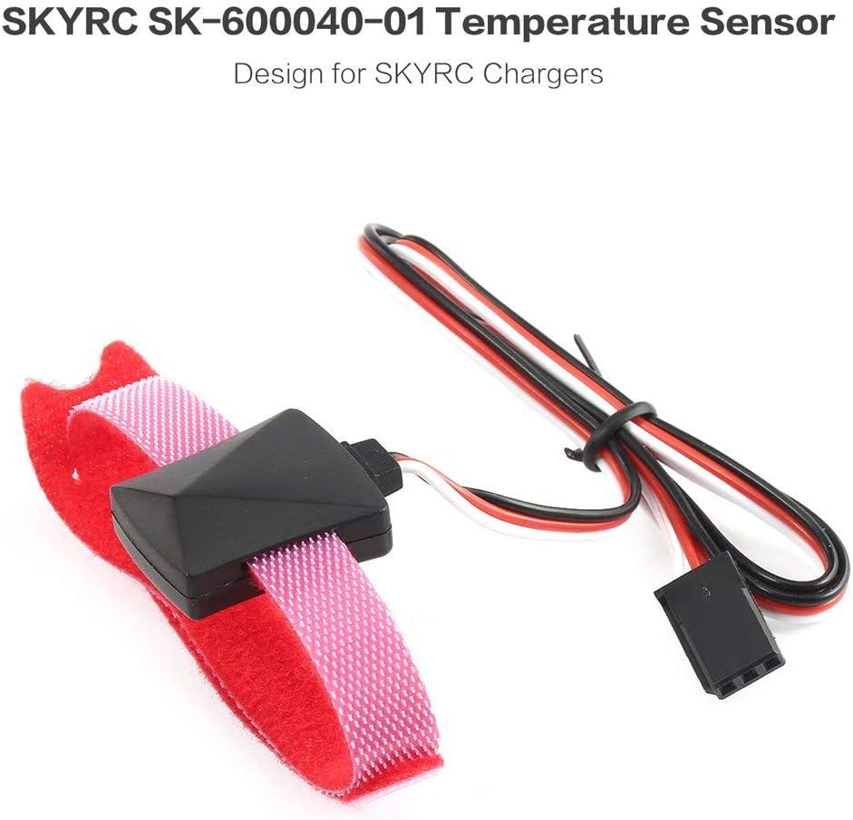 Cavo di controllo della sonda del sensore di temperatura SKYRC con rilevamento della temperatura per il controllo della temperatura del caricabatterie iMAX B6 B6AC