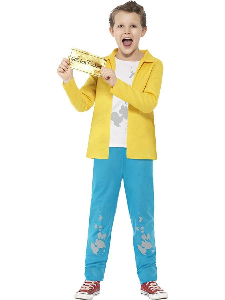 Child Willy Wonka Charlie and the Chocolate Factory Book Week Day Fancy Dress