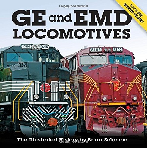 GE EMD Locomotives Illustrated History product image
