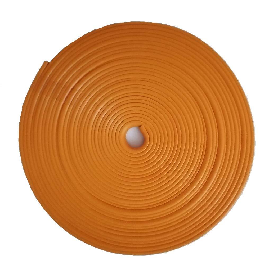 Orange 8M Wheel Hub Anti-Rubbing Strip Wheel Accessory Rim Blade Wheel Hub Interior Moulding Trim Tape Stripes Anti-Collision Bar of Tire Protection Ring